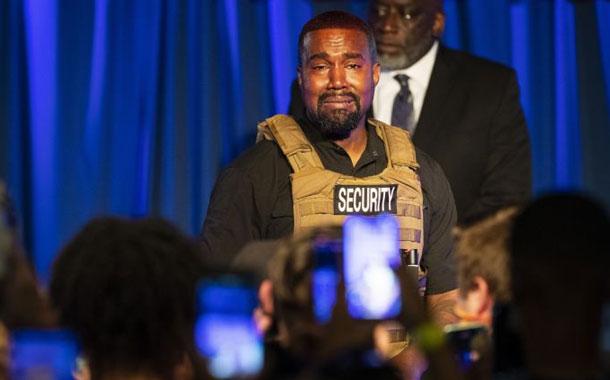 Kanye West lloró en un mitin político desarrollado en Estados Unidos
