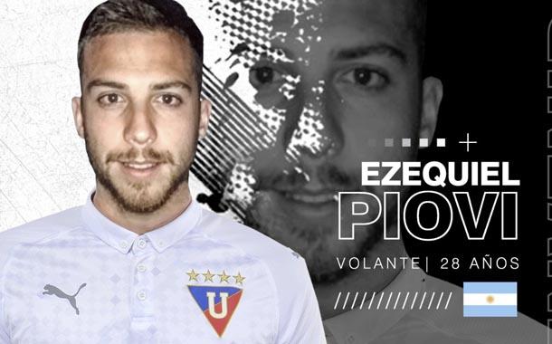 Lucas Ezequiel Piovi ya es nuevo jugador de Liga