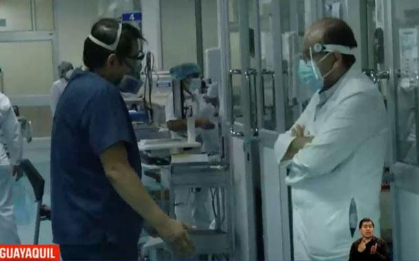 Hospital Luis Vernaza aún recibe pacientes de otras provincias