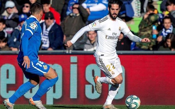 Real Madrid buscará la victoria ante Getafe