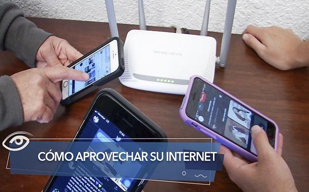 Cómo aprovechar su Internet