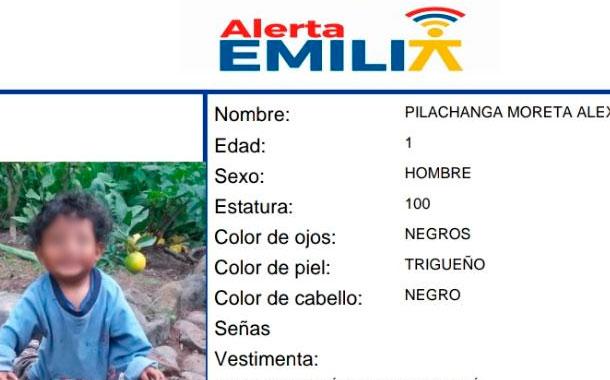 Encuentran sin vida a menor desaparecido en Ambato