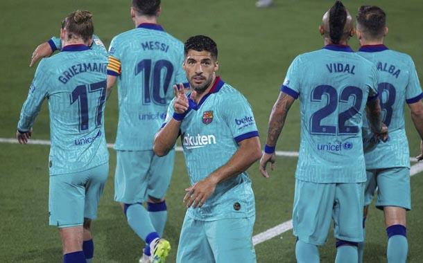 Barcelona goleó en su visita a Villareal