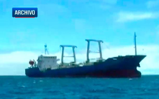 Flota de 260 buques pescan cerca de las Islas Galápagos