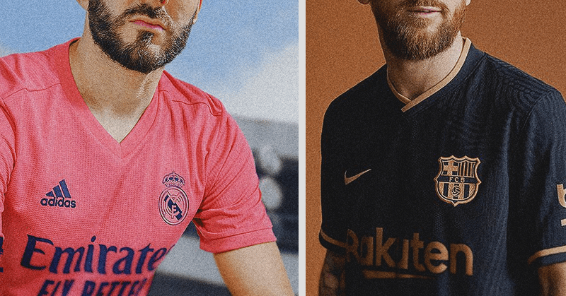 Madrid, Barça y el Atlético presentan sus nuevas camisetas