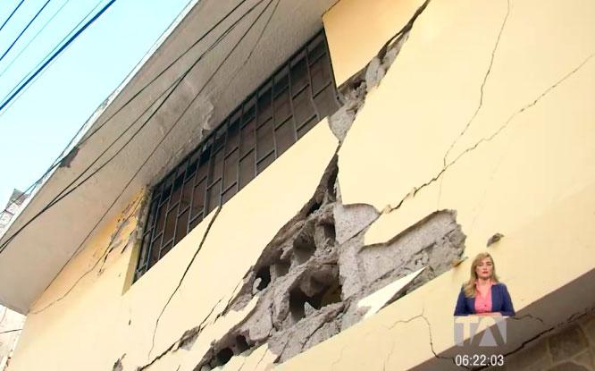 Moradores de Solanda preocupados por la afectación en sus viviendas