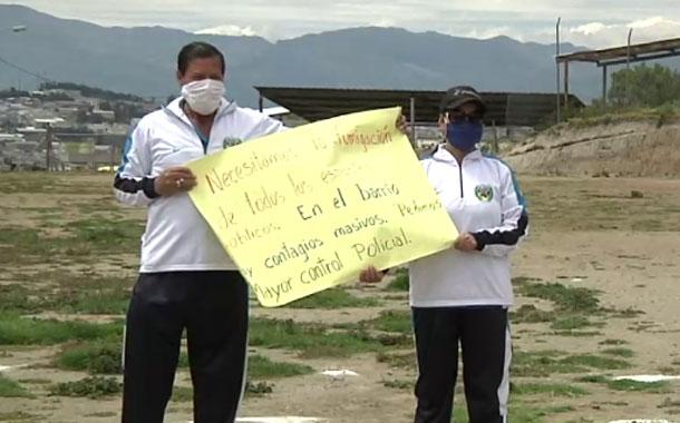 Estudio preliminar de deterioro del suelo en dos zonas de Solanda