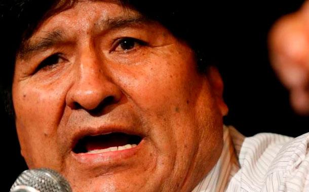 Fiscalía boliviana acusa a Evo Morales de terrorismo