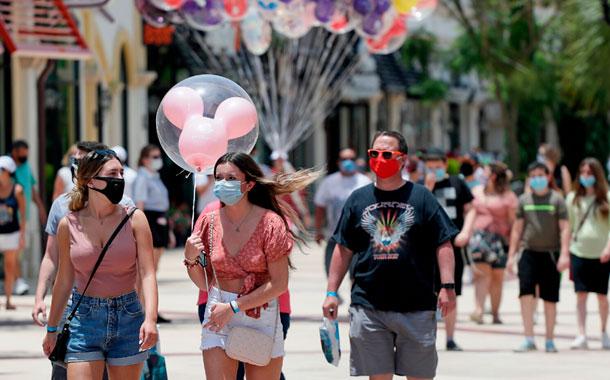 Florida rompe récord nacional de casos de COVID-19 en un día
