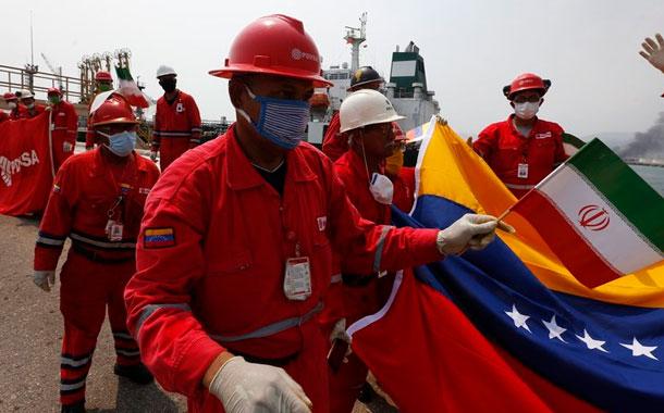 EEUU intenta confiscar gasolina iraní que va a Venezuela
