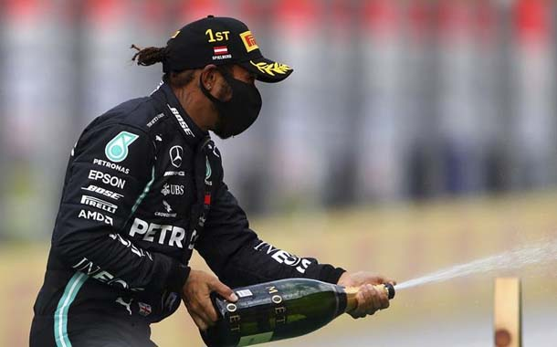 Hamilton lideró el doblete de Mercedes en Estiria