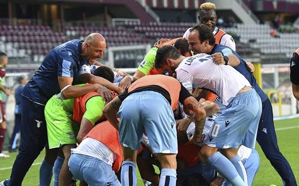 Lazio logró una importante victoria con Felipe Caicedo en cancha