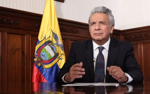 Moreno envió carta al presidente Xi Jinping para