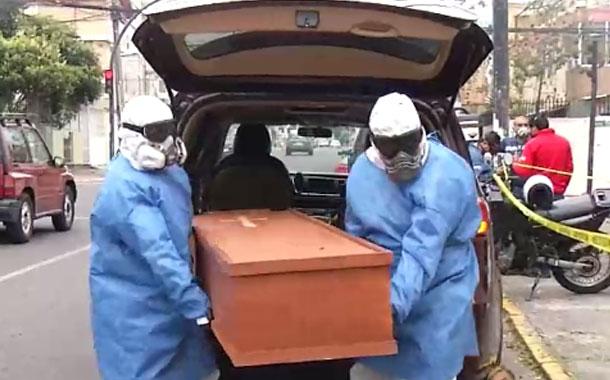 Criminalística realizó este miércoles el levantamiento de cuatro cadáveres