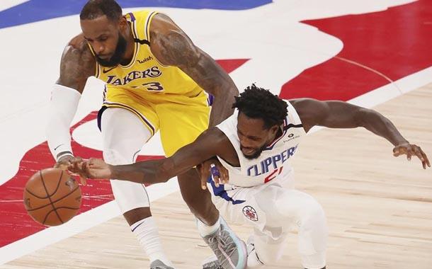 NBA volvió con coliseo vacío y dos partidos intensos