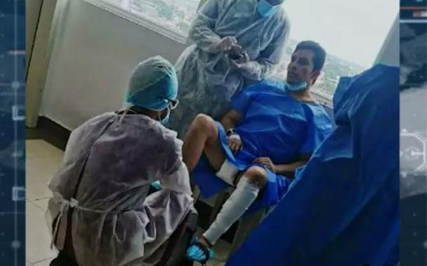 Injerto de piel alargaría la estadía de Daniel Salcedo en el hospital