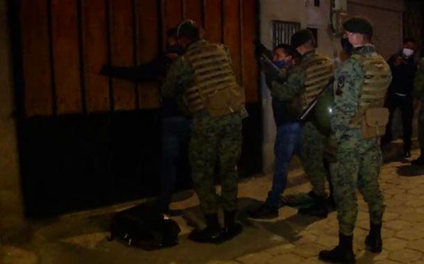 Entidades de seguridad realizaron operativo de control en Quito
