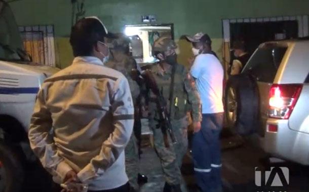 Los operativos de control del toque de queda son cada vez más fuertes en Esmeraldas