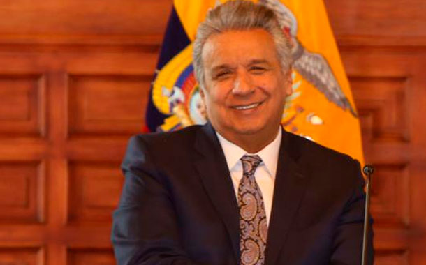 Lenín Moreno se despidió de Sonnenholzner a través de una carta
