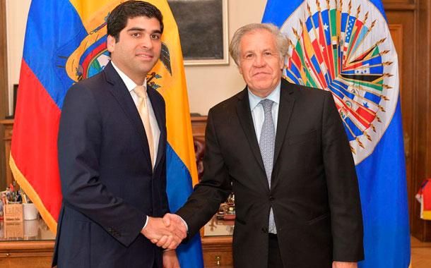 Ecuador asume Presidencia Pro Témpore de la RIAC