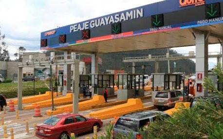 Desde mañana ya no habrá cobro manual en el peaje Guayasamín