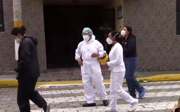 Una persona murió por COVID-19 en una casa hogar de ancianos