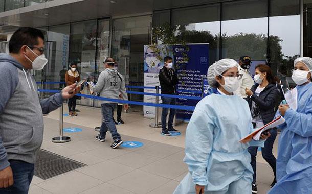 Contagios de coronavirus aumentan a 285213 en el Perú