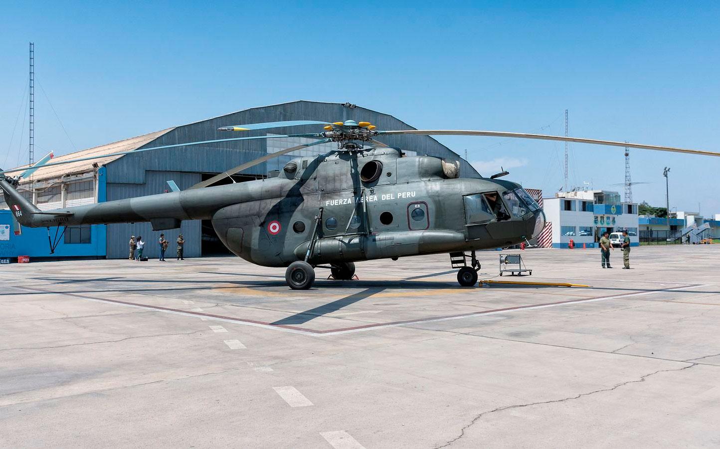 Desaparece helicóptero peruano cerca de la frontera con Ecuador