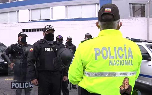 Policía Nacional e Intendencia de Pichincha realizan operativos móviles