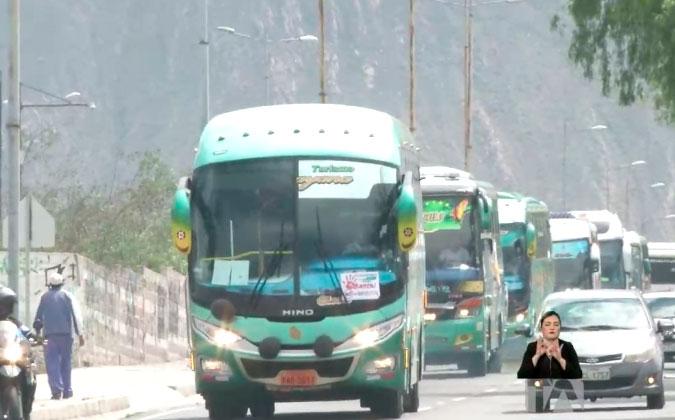 El transporte turístico se declara en quiebra