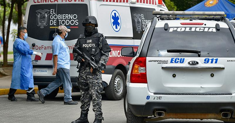 Salcedo será trasladado al hospital de la policía y luego a la cárcel