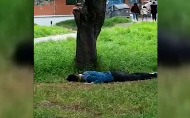 ¿Hombre agonizó por coronavirus en un parque del sur de Quito?