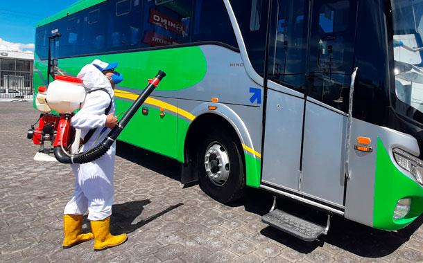 Medidas de bioseguridad para el uso de transporte público