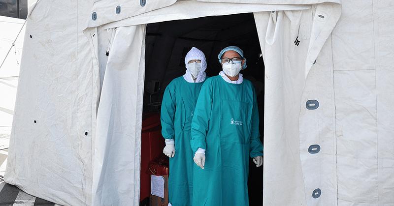 Más de 2 000 personas se han atendido en los centros de triage de la capital