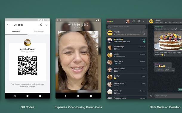 Whatsapp presenta nuevas funciones