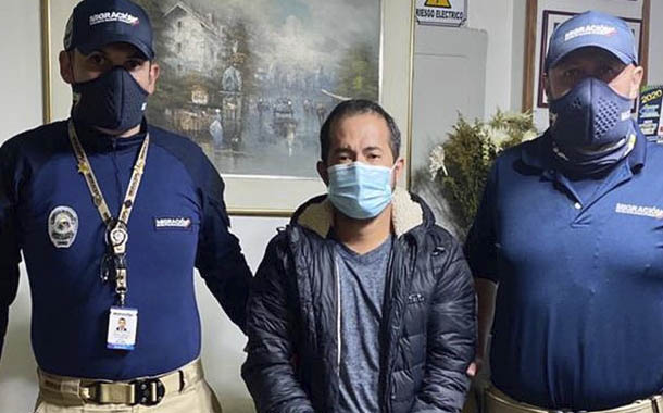 Detienen en Colombia a ecuatoriano acusado de delito de abuso sexual