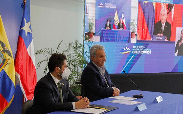 Sector agrícola y 710 empresas ecuatorianas se beneficiarán del acuerdo de integración comercial con Chile