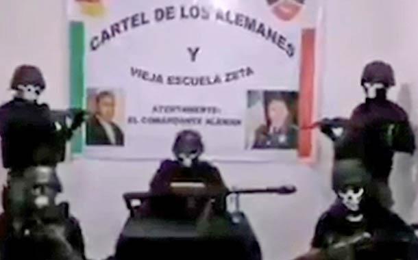 Temor en México por amenazas de un grupo armado 'Los Alemanes'
