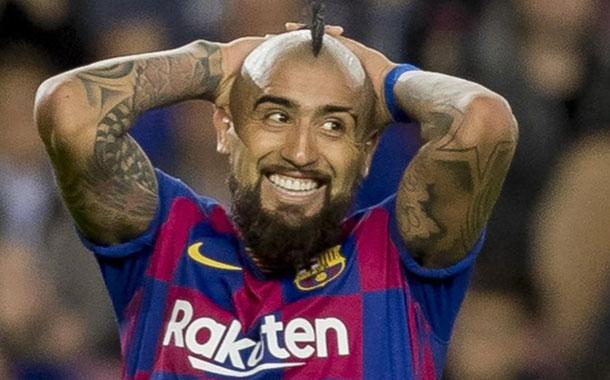 Arturo Vidal y su promesa si el Barcelona gana la Champions