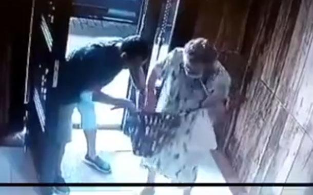 Asalto y agresión a una anciana quedaron grabados en video