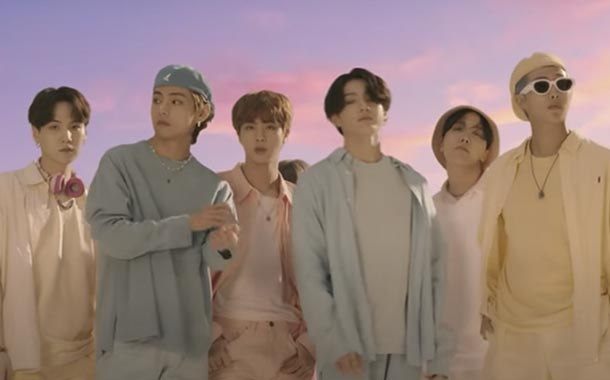 BTS rompe las redes con su nueva canción 'Dynamite'