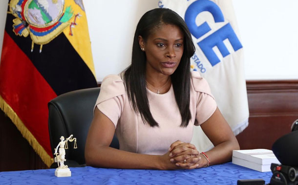 Fiscal General presentó informe de labores correspondiente a 2019