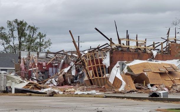 Los daños que dejó el paso del huracán Laura en Estados Unidos