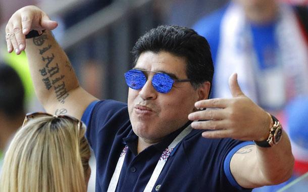 Conmebol llama a Maradona  a colecta para afectados del COVID-19