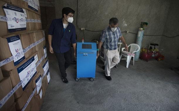 México produce su propio respirador médico