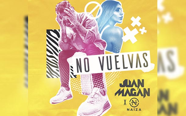 Juan Magán estrena 'No Vuelvas' junto a la ecuatoriana Naiza