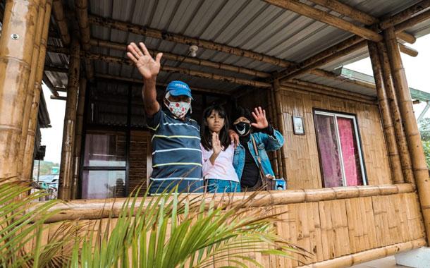 Viviendas de la misión 'Casa para todos' se entregan a personas con discapacidad y artesanos de Pile