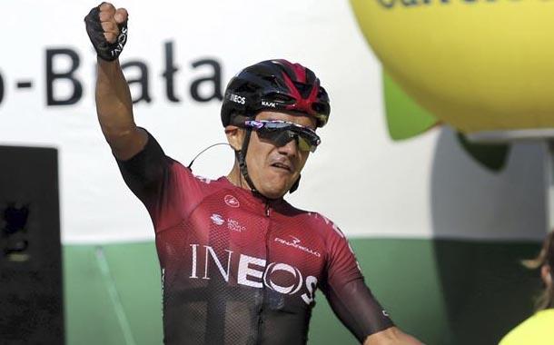Richard Carapaz alista su debut en el Tour de Francia