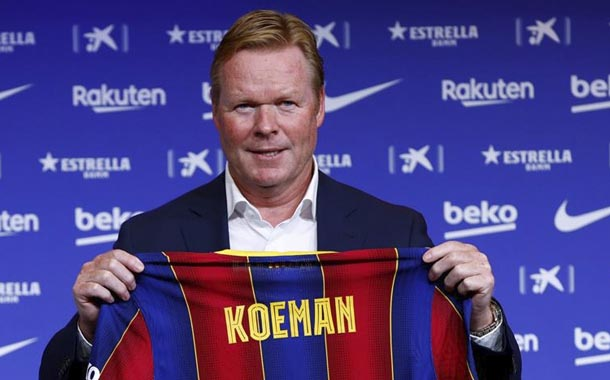 Ronald Koeman deja claro el panorama de su trabajo en Barcelona