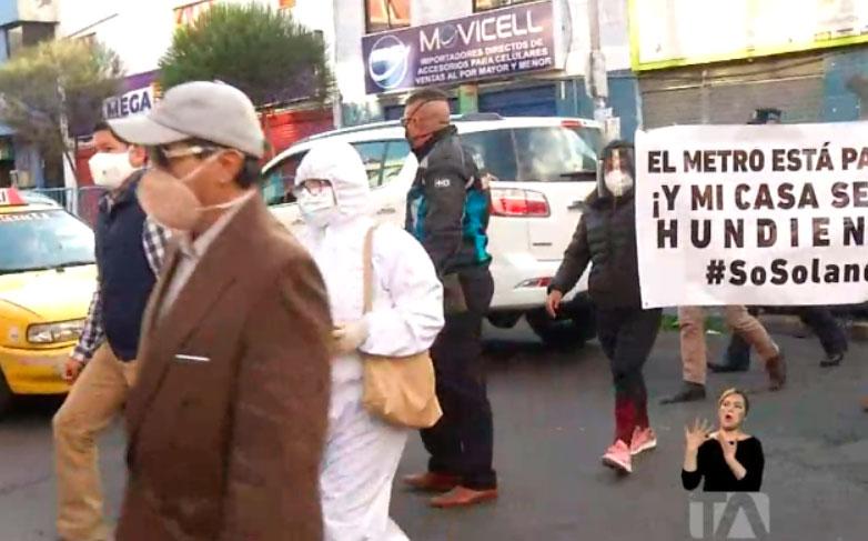 En 15 días empezará la restauración de viviendas afectadas en Solanda